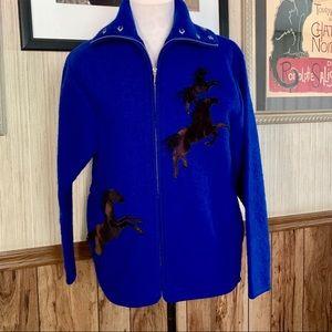 Lisa International coat size Medium EUC
